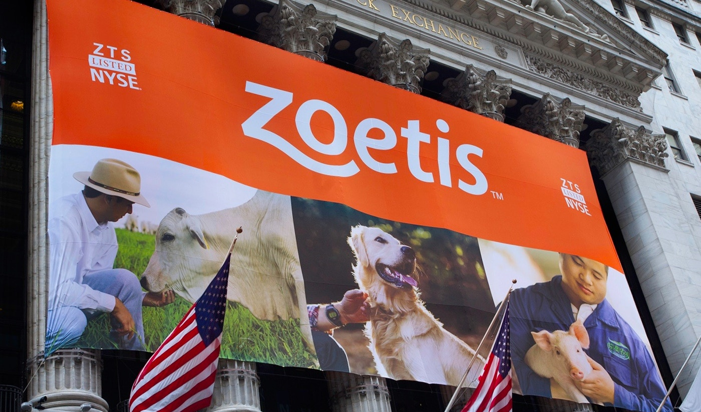 Zoetis launch with new logo