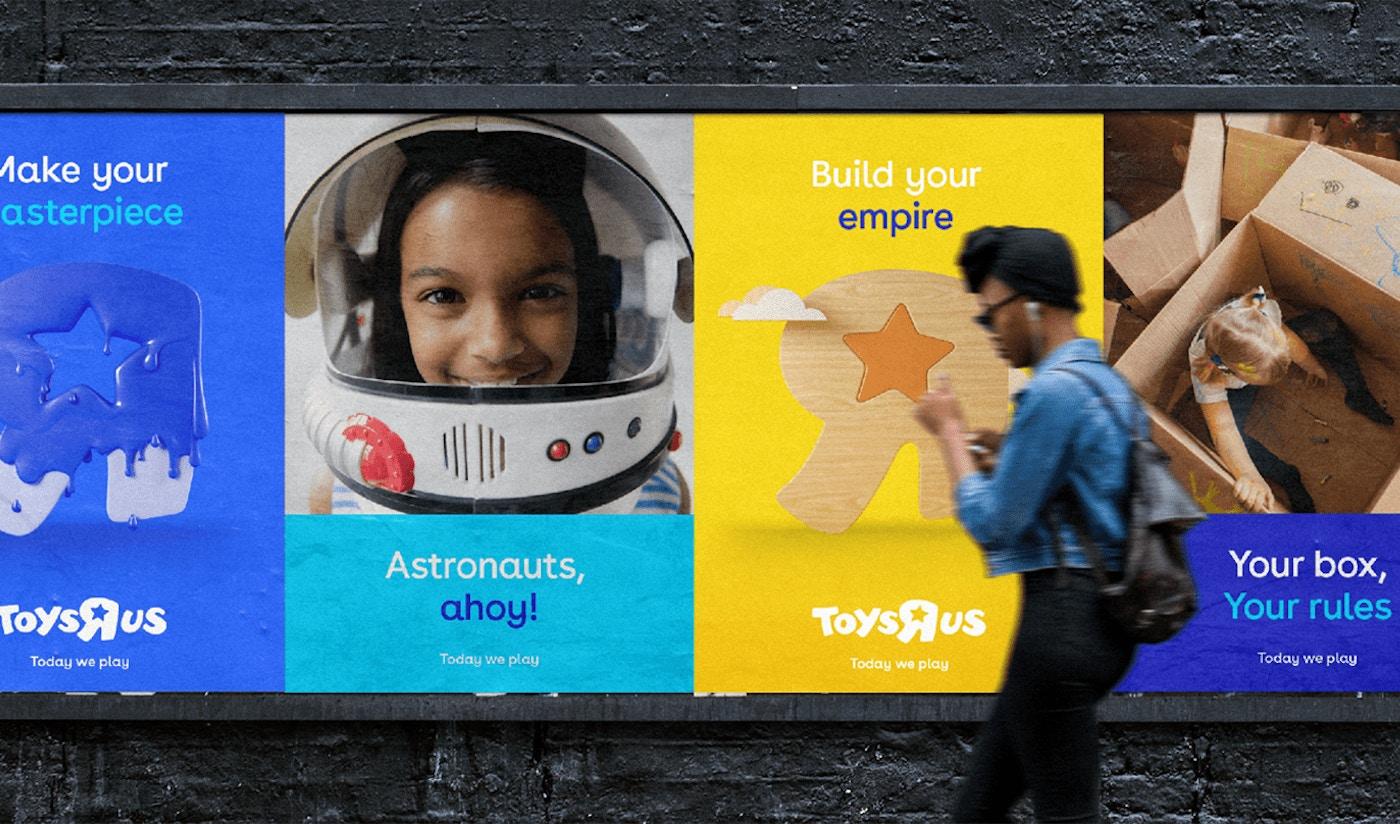 Toys R Us Street Advertisements