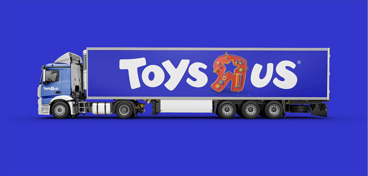Toys R Us Truck