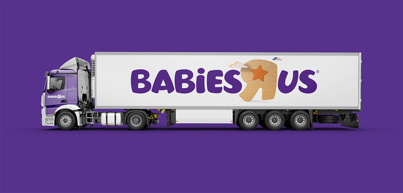 Babies R Us truck