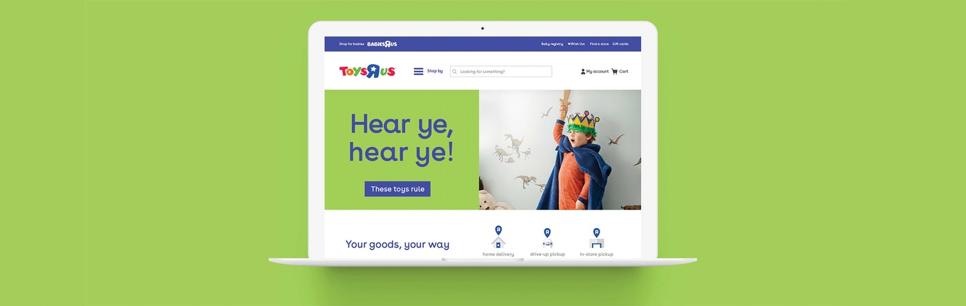 Toys R Us Website