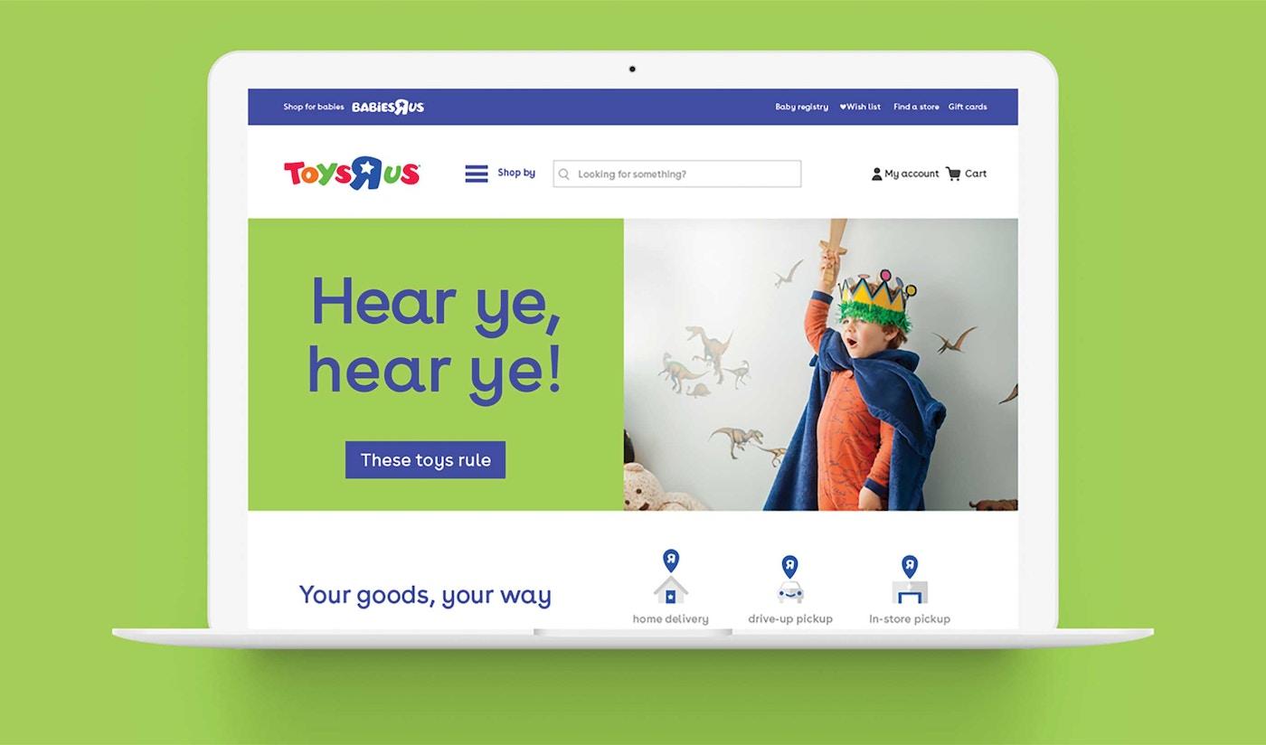 Toys R Us Website