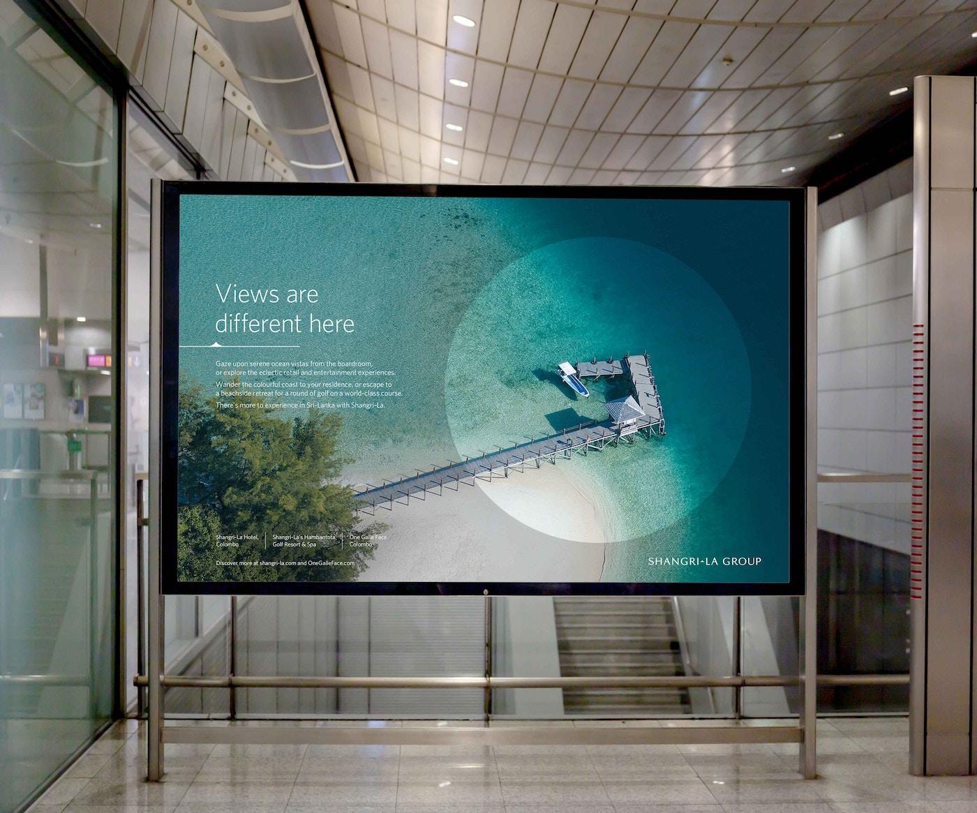 Shangri-La 옥외 광고판