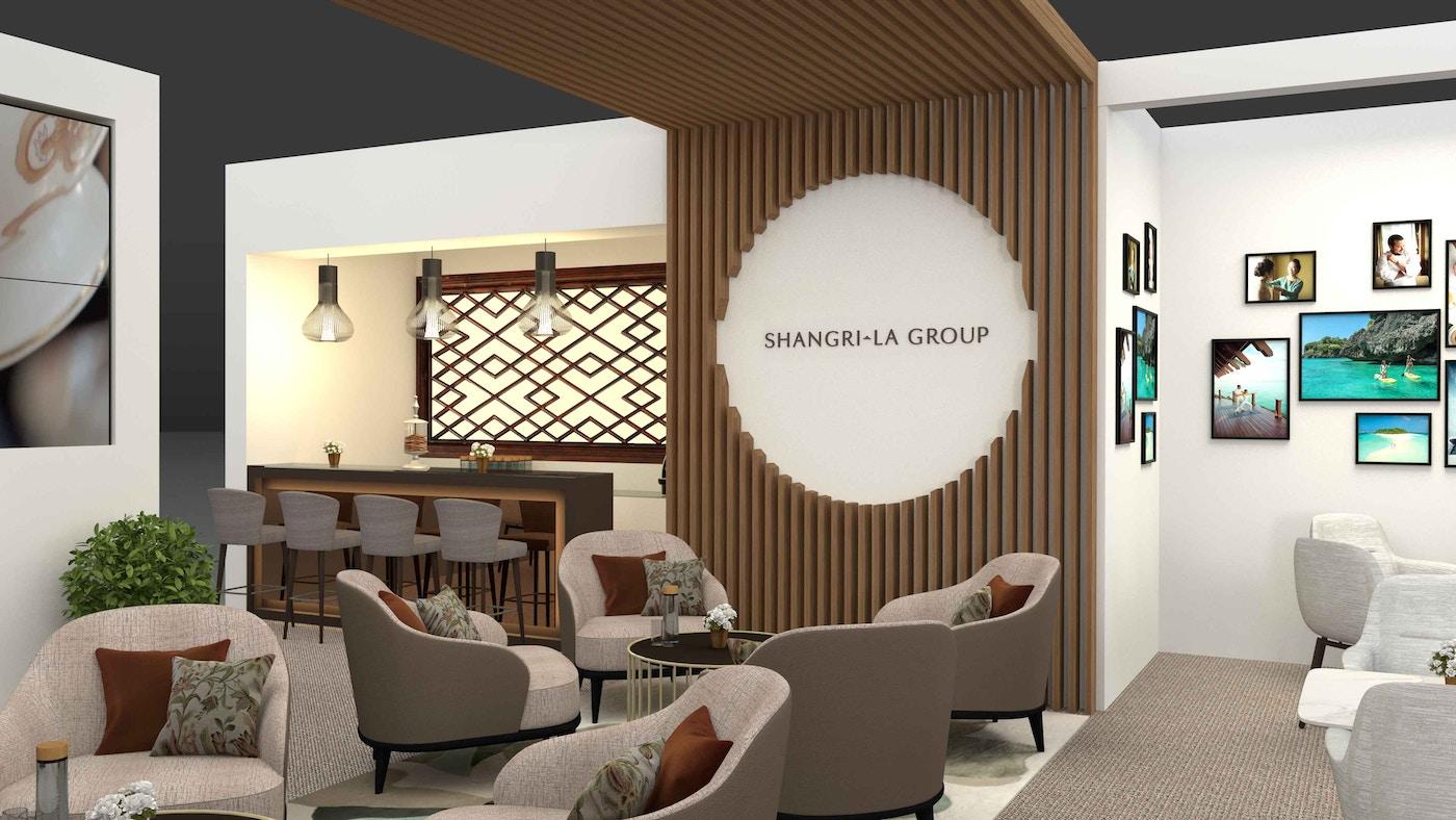 Shangri-La 브랜드가 부착된 환경