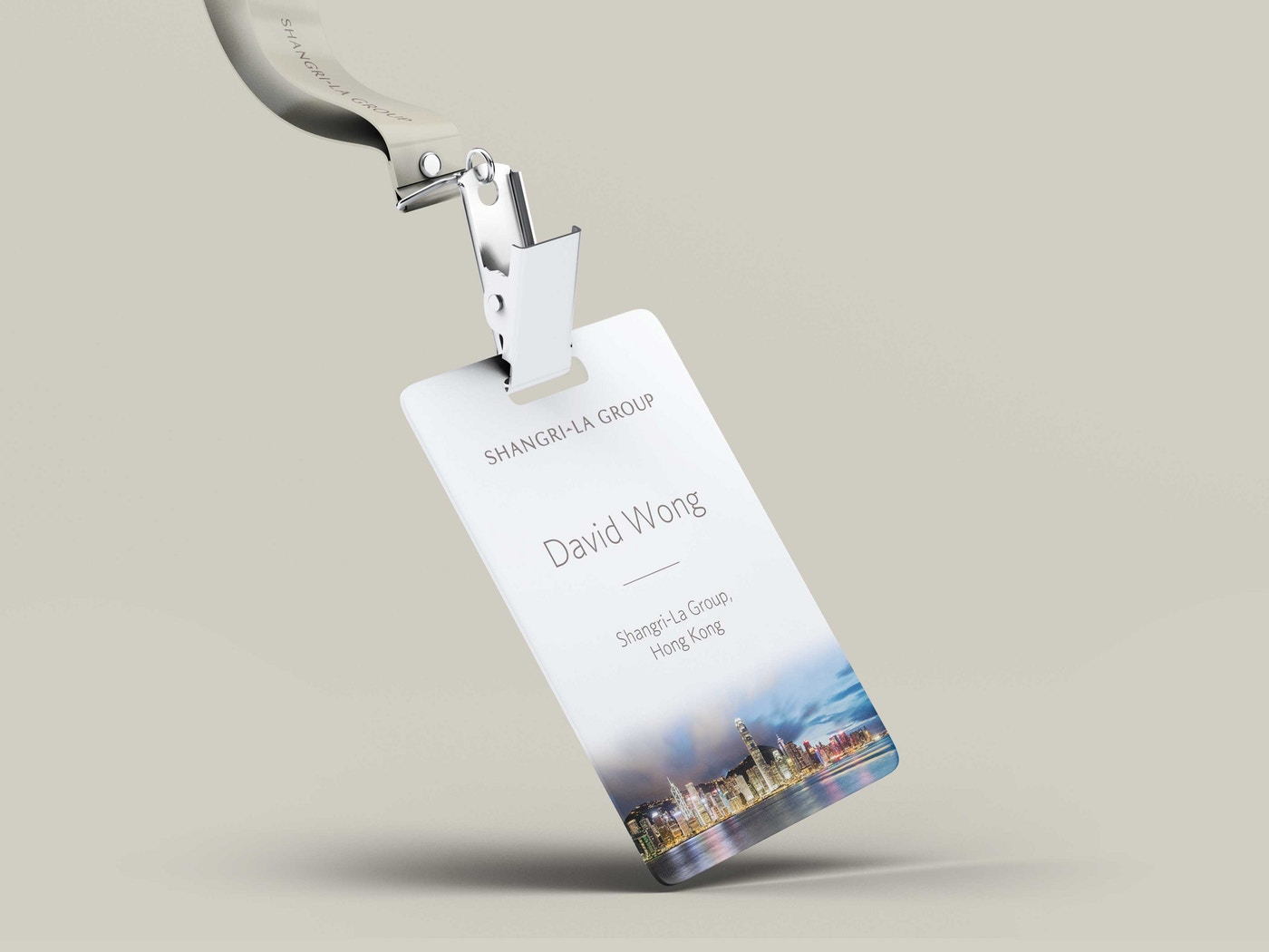 Shangri La Branded Name Badge
