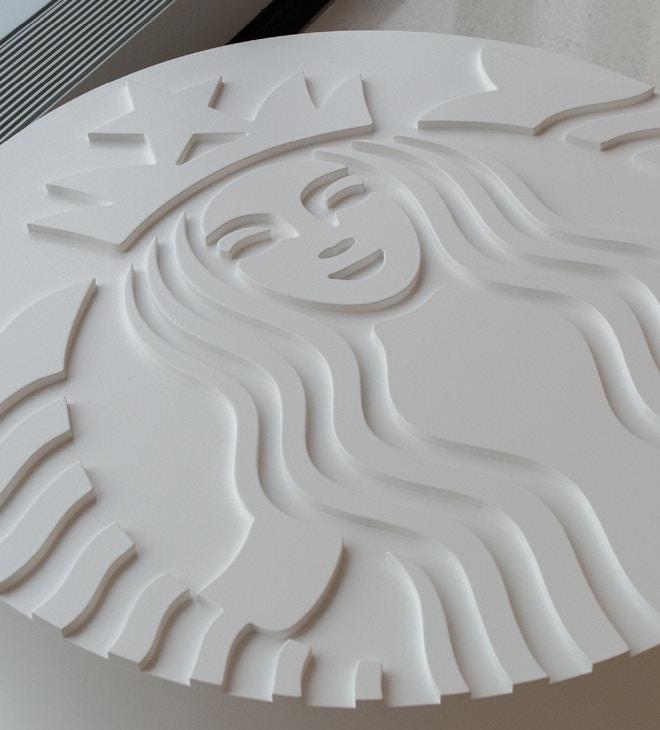 Image of Starbucks logo designed by Lippincott